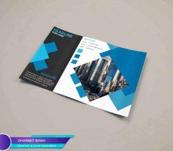 graphic design mockup brochure