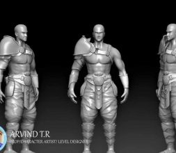 game character modeling