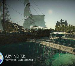 game level design sea port